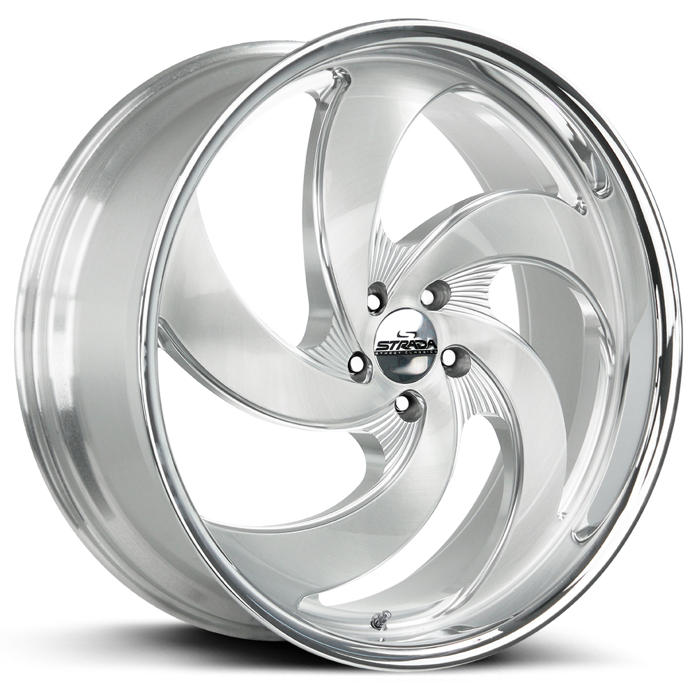 STRADA STREET CLASSICS RETRO 5 BRUSHED FACE SILVER SS LIP ANGLE LOW RES