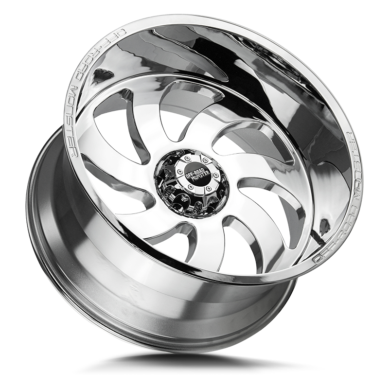 The M07 Wheel by Off Road Monster in Chrome