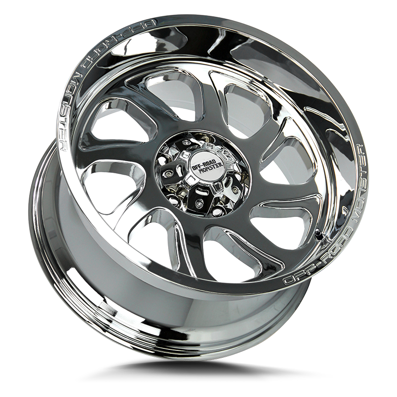 The M22 Wheel by Off Road Monster in Chrome
