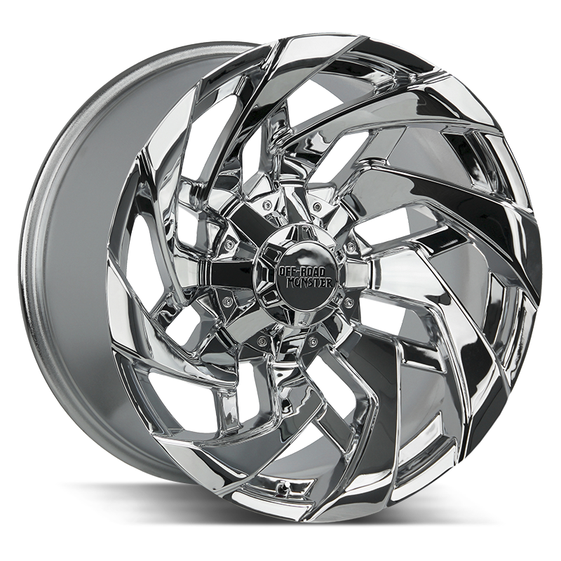 The M24 Wheel by Off Road Monster in Chrome
