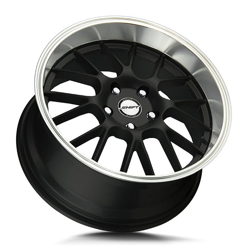 The Crank Wheel by Shift in Black Polished Lip
