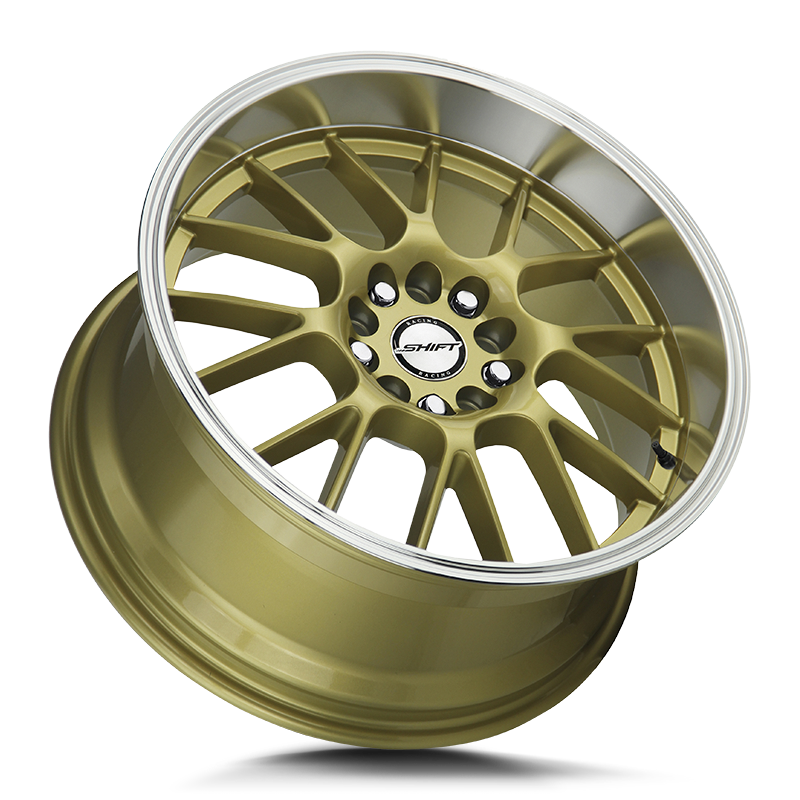 The Crank Wheel by Shift in Gold Polished Lip
