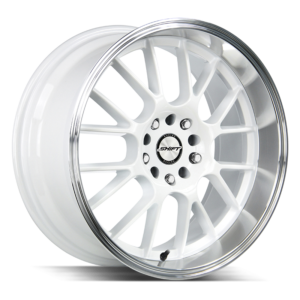 The Crank Wheel by Shift in White Polished Lip
