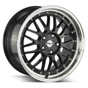 The Flywheel Wheel by Shift in Gloss Black Polished Lip