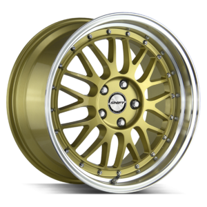The Flywheel Wheel by Shift in Gold Polished Lip