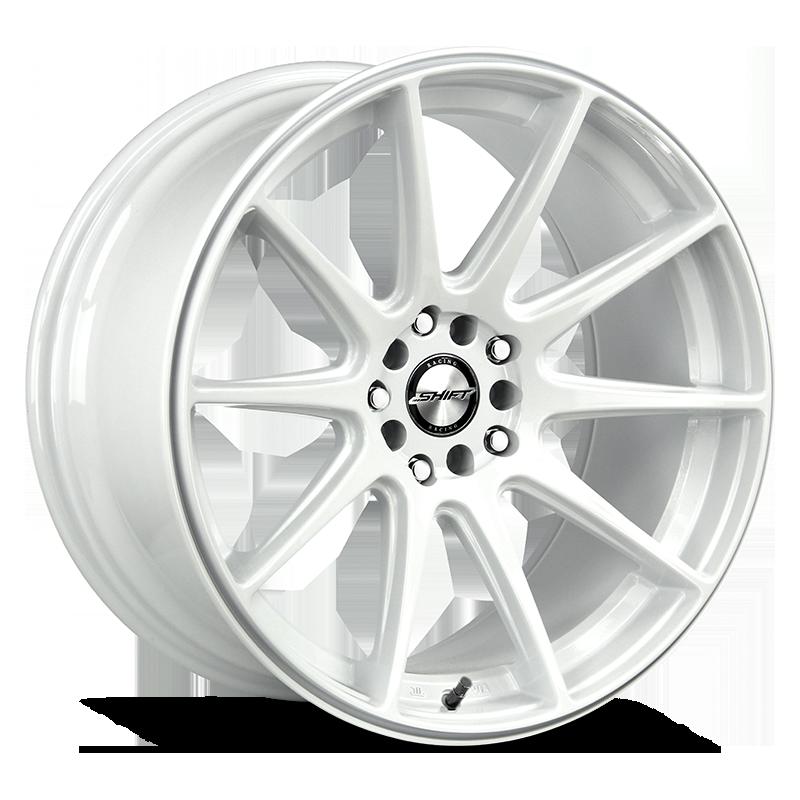 The Gear Wheel by Shift in White