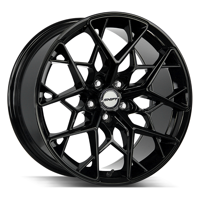 The Piston Wheel by Shift in All Gloss Black