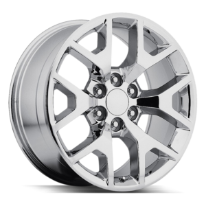 The GMC Sierra Wheel by Strada OE Replica in Chrome
