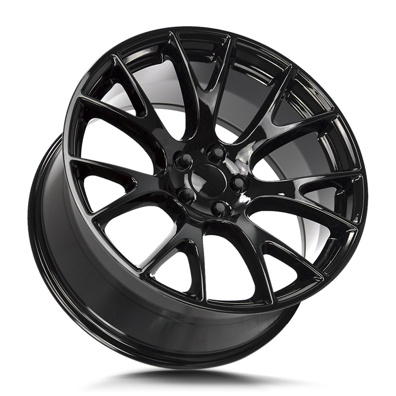 The Hellcat Wheel by Strada OE Replica in All Gloss Black