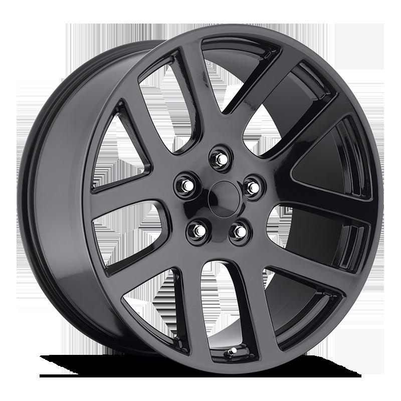 The SRT10 Wheel by Strada OE Replica in All Gloss Black