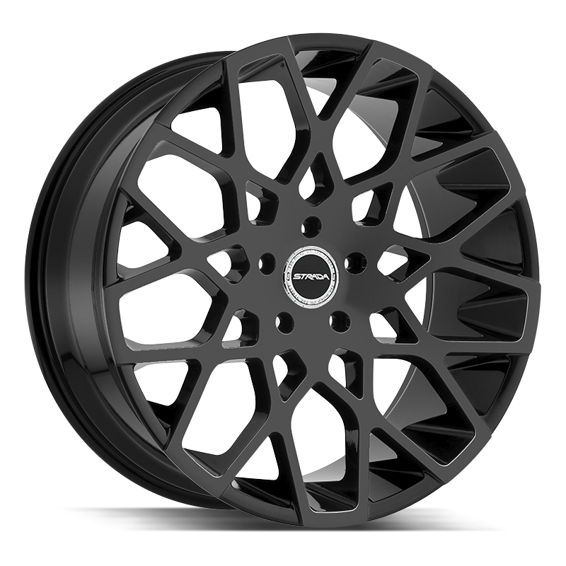 The Buca Wheel by Strada in All Gloss Black