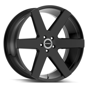The Coda Wheel by Strada in All Gloss Black
