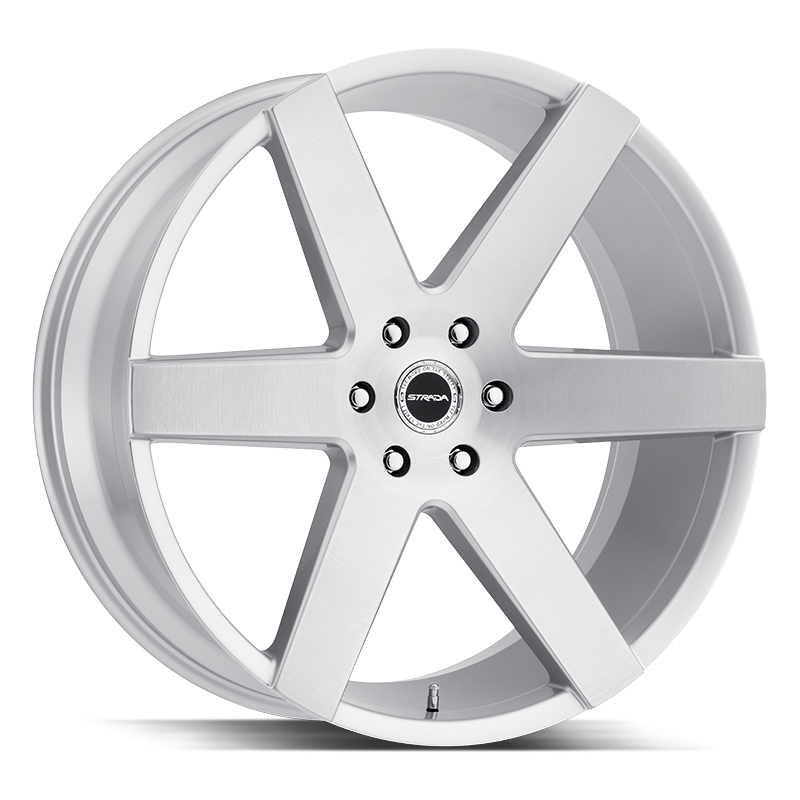 The Coda Wheel by Strada in Brushed Face Silver
