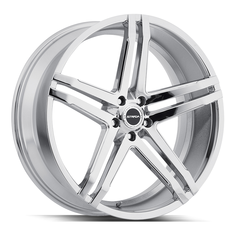 The Domani Wheel by Strada in Chrome