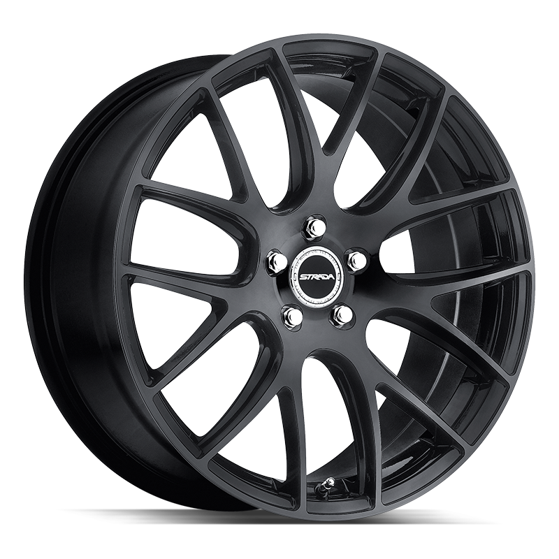 The Fuso Wheel by Strada in All Gloss Black