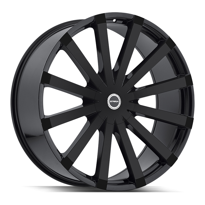 The Gabbia Wheel by Strada in All Gloss Black