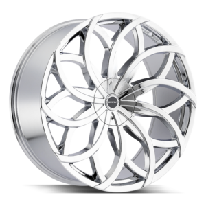 The Huracan Wheel by Strada in Chrome