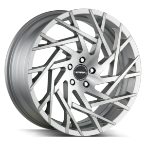 The Nido Wheel by Strada in Brushed Face Silver
