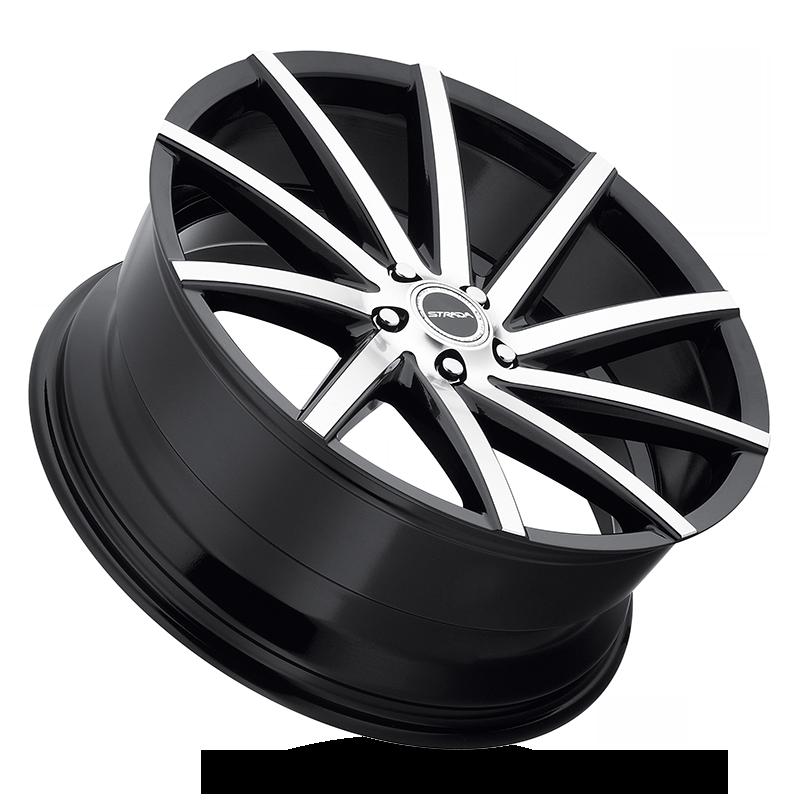The Sega Wheel by Strada in Gloss Black Machined