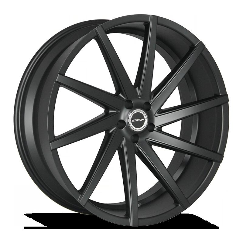 The Sega Wheel by Strada in Stealth Black