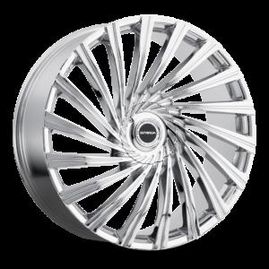 The Tornado Wheel by Strada in Chrome