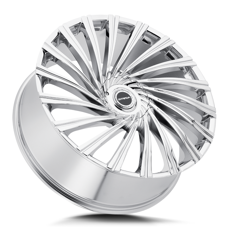 The Tornado Wheel by Strada in Chrome