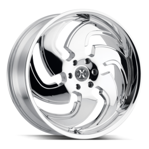 The X03 Wheel by Xcess in Chrome
