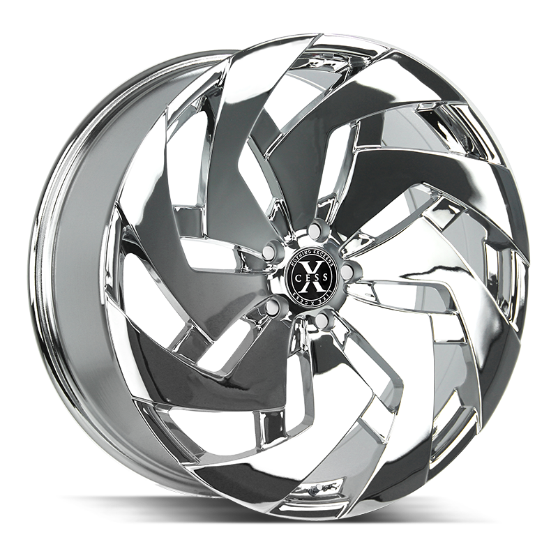 The X04 Wheel by Xcess in Chrome
