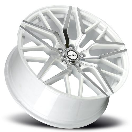SHIFT SPRING 20 INCH WHITE MACHINED