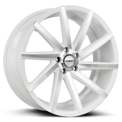 Strada Sega  white machined