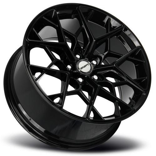 shift piston gloss black 18 inch lay