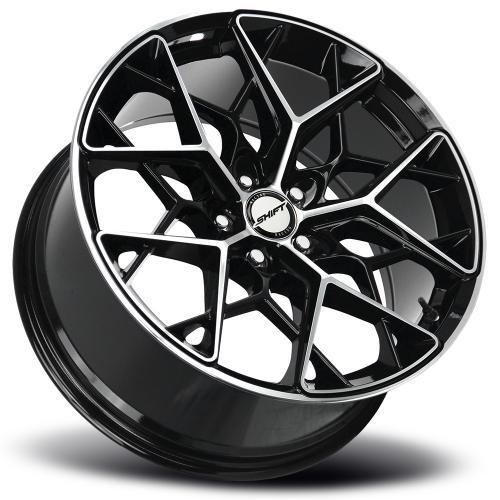 shift piston gloss black machined 18 inch lay