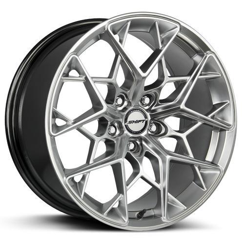 shift piston platinum silver 20 inch